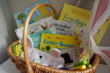 Story Book Gift Basket  Children's Books