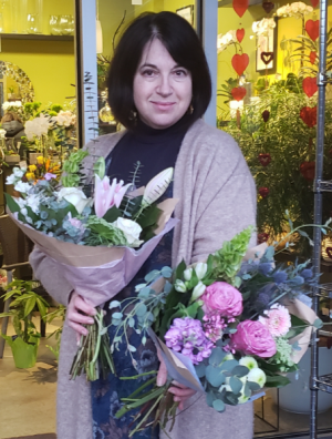 Straight From The Heart Designer's Choice Hand Tied Bouquet in Delta, BC | FLOWERS BEAUTIFUL