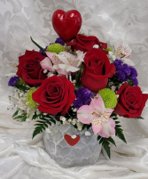 Straight from the Heart Fresh Flowers