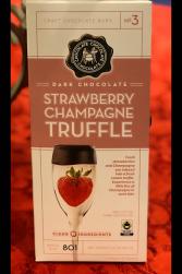 Strawberry Champagne Truffle Chocolates