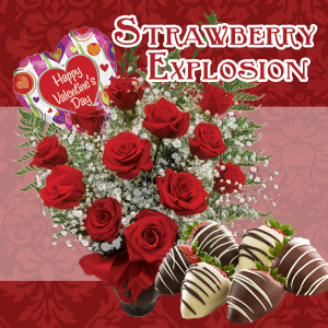 Strawberry Explosion  in Lawrenceburg, IN | MCCABE'S GREENHOUSE-FLORAL