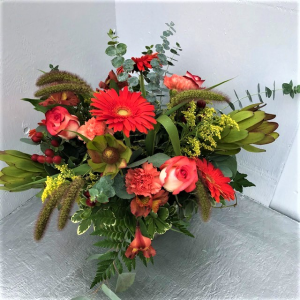 Strawberry Fields Vase  in Woburn, MA   HILLSIDE FLORIST INC.