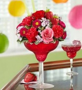 Strawberry Floral Margarita 1800 flowers
