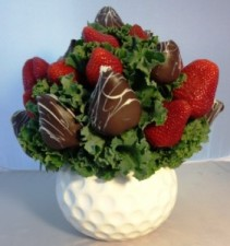 Strawberry Golf Ball FORE!  Please give us 24 hr notice