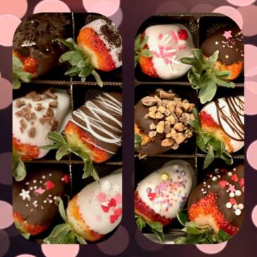 Strawberry love Chocolate Cover Strawberries