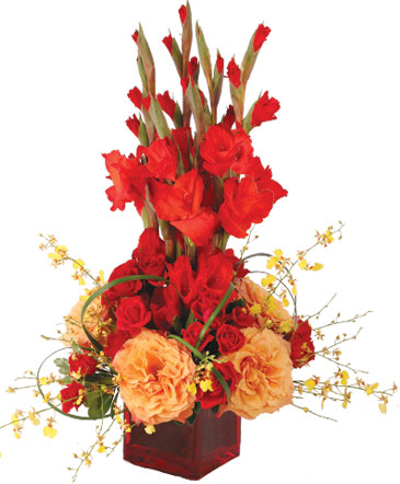 Strength and Roses Floral Design