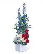 Strength and Valor Flower Arrangement