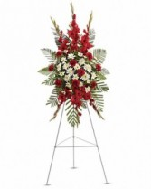 Strength & Solace Spray Sympathy Arrangement
