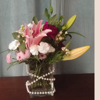 String of Pearl Arrangment