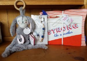 Strong Like a Mother  New Mom & Baby Boy Gift Basket in Auburn, AL | AUBURN FLOWERS & GIFTS