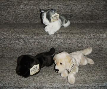 Stuffed Animal Kitties Puppies Giftware Stuffed Animals In