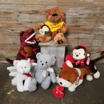 Stuffed animals valentine's day