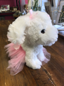 Stuffed Ballerina Puppy Stuffed Animal