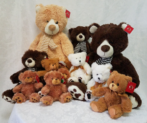 Stuffed Teddy Bears Gifts in Fort Myers, FL | VERONICA SHOEMAKER FLORIST LLC