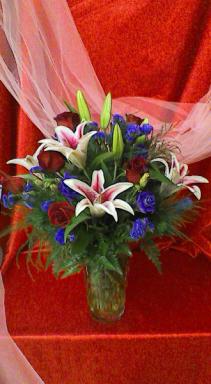 Stunning Beauty Valentine Arrangement