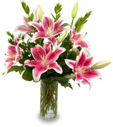 Stunning Lilies Floral Arrangement