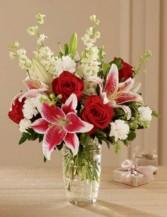 Stunning Lily Vase