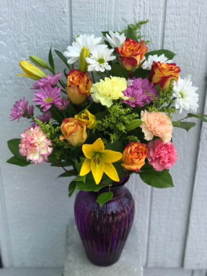 Stunning Mixed Vase  in Clearwater, FL | FLOWERAMA
