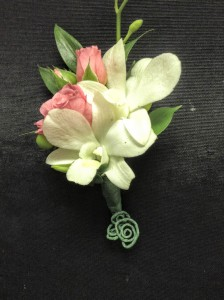 Stunning Orchid Boutonniere Prom or Wedding in Colts Neck, NJ | A COUNTRY FLOWER SHOPPE AND MORE