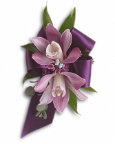 Stunning Orchids Corsage