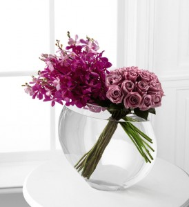 Stunning Rose and Orchid combination