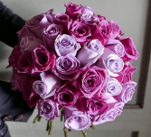 Stunning rose hand tied bouquet Roses