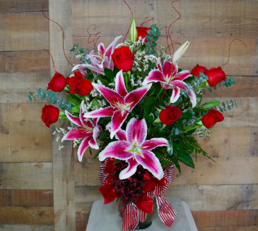 Stunning Roses & Lilies