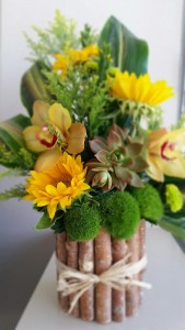 Stunning Succulents & Sunflowers  in Aliso Viejo, CA | Lily Fiore Floral Boutique