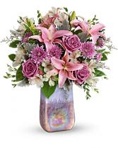 Stunning Swirls  Vase Arrangement