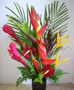 Stunning Tropical Arrangement  in Clearwater, FL | FLOWERAMA