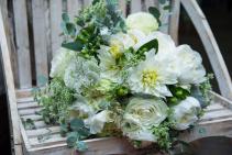 Stunning White Bridal Bouquet