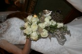 Stunning White Cascade Bouquet