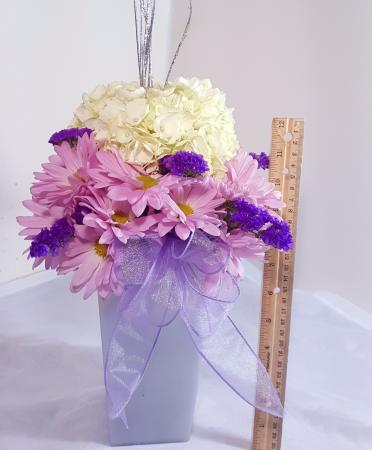 Silver to the sky lavendar vase in white oak pa breitingers silver to the sky lavendar vase mightylinksfo