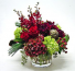 Stylish Heart Vased Arrangement