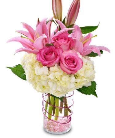 Stylish Pinks Cylinder