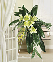 Stylish Sympathy Standing Spray