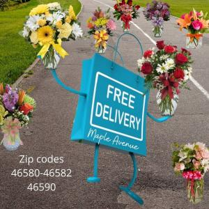 Substitution and Delivery Policy  in Warsaw, IN | Maple Avenue Flowers