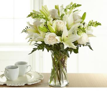 Subtle Elegance  Fresh arrangement in a vase