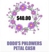 $40 Petal cash Gift Card Toward Future Order