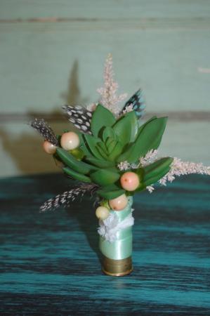 Succulent Bout In Shotgun Shell