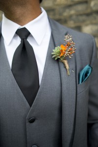 Succulent Boutonnière   in Toronto, ON | BOTANY FLORAL STUDIO