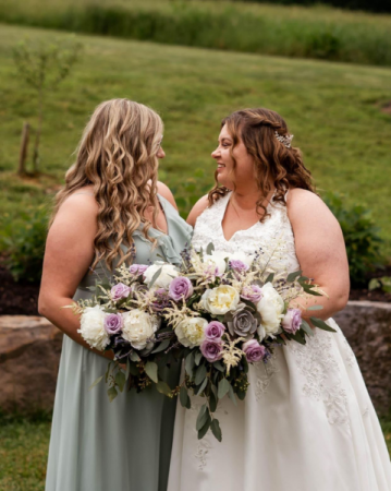 Succulent Bridal and Bridesmaid Bouquets  Spring Bouquets