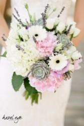 Succulent Softness Bridal Bouquet