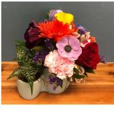 Succulent Surprise Succulent and Fresh Flowers