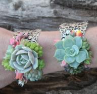 Succulent Wrist Cuff