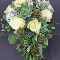 Succulents Inspired  Bridal or Brides Maid Bouquet in North Bend, OR | PETAL TO THE METAL FLOWERS