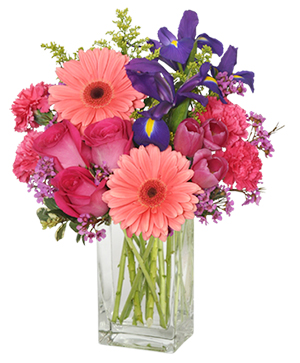 Suddenly Spring Flower Arrangement in Flint, MI | HOWELLS CATHY & CAROL'S FLOWERS & GIFTS