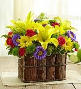 Woodsy Arrangement Flower Arrangement