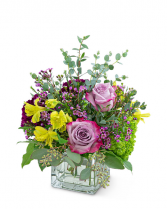 Sugar & Plum Flower Arrangement