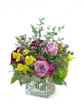 Sugar & Plum Flower Arrangement